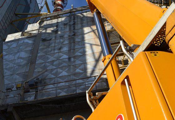 Elevación y transporte de batea PVC